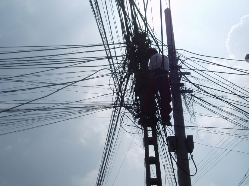 Electricity blackouts when travelling   wandelgek.nl
