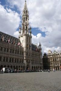 Stadhuis van Brussel aan de Groote Markt...