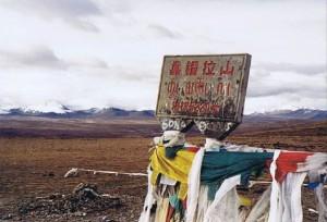 De Gyatsu La pas (5220 meter hoog, maar tegenwoordig denkt men 5260 meter hoog...)