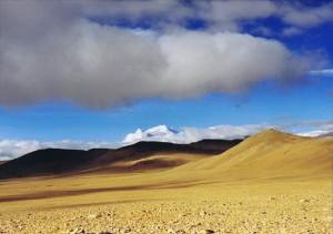 Een van de allermooiste plekken ter wereld vlak voor de afdaling naar Nepal...