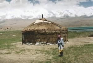 Overnachten in een Kirgieze yurt...