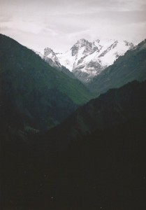 Bogda Feng 5445 m.