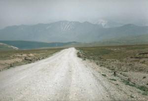 Weg naar de Hemelse Bergen (Tien Shan)...