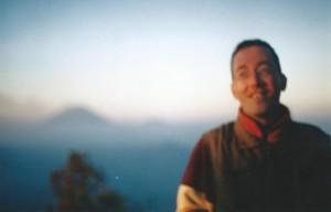 De Wandelgek op de Tengger Caldera bij zonsopkomst...