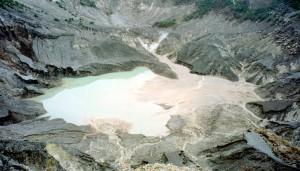 Krater van de Tangkuban Perahu (Omgekeerde Prauw)