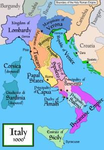 Repuliek Amalfi in het jaar 1000...