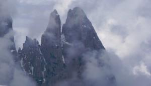De 2461 m. hoge en spectaculaire Schlern...