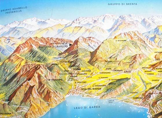 Noordkant van het Gardameer bij Riva...