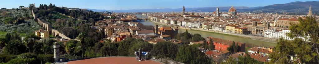 Uitzicht over Florence...