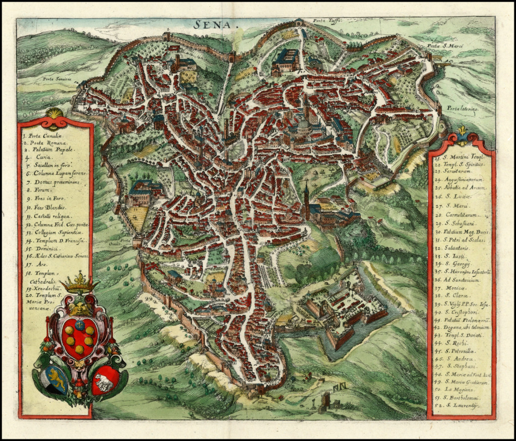Map_of_Siena_by_Matheus_Merian