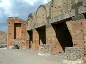 Pompeje_Forum_sklepy