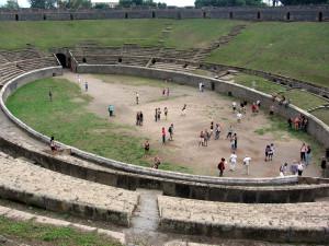 Arena van Pompeii...