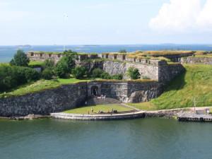 Zweeds fort op Suomenlinna...
