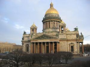 De Isaak Kathedraal...
