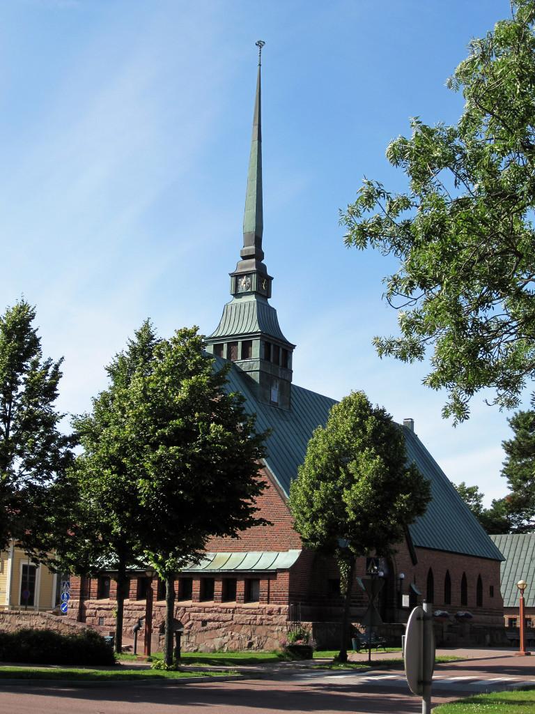 Sint Joriskerk in Mariehamn...