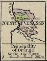 Oranje in 1547...