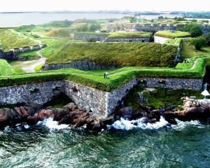 Het Zweedse fort Sveaborg...