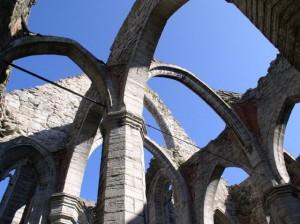 Ruine van de oude Kathedraal...