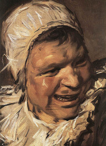 Frans Hals: Malle Babbe (Detail)