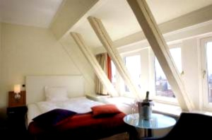 Mijn hotelkamer met prachtig weids uitzicht...