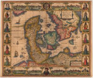 Daniae Regni Typum-Janssonius J. 1630