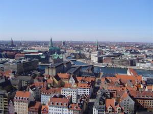 Binnenstad van Kopenhagen...