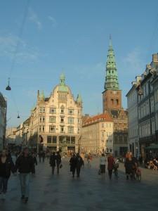 Kopenhagen voetgangersgebied