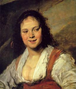 Frans Hals: zigeunermeisje-1626