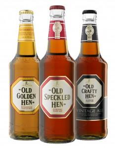 De gehele familie van Hen bieren...