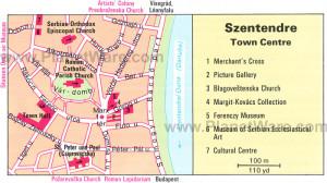 szentendre-town-centre-map