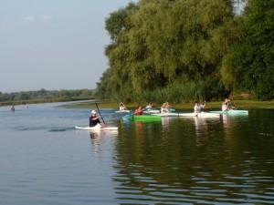Rustig vaarwater voor lange kanotochten...