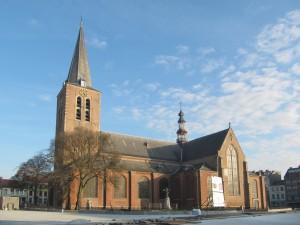 Sint Pieterskerk op de Grote Markt...