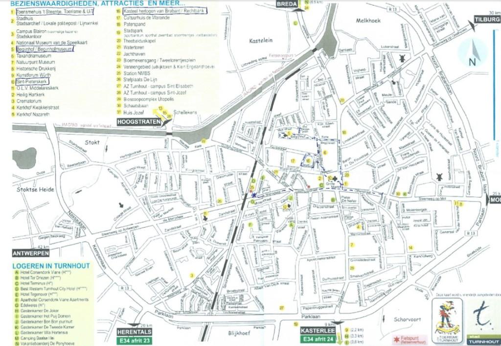 Stadswandeling door Turnhout...