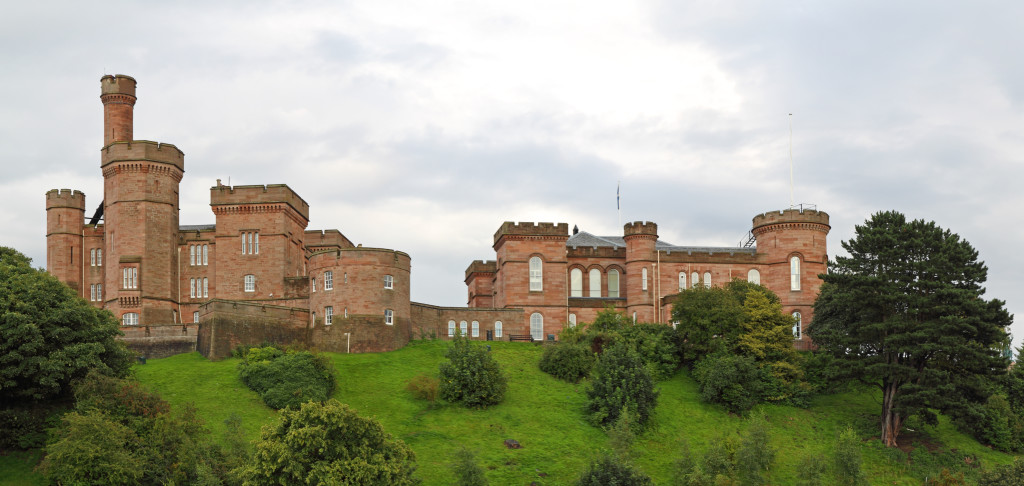 Inverness Castle...