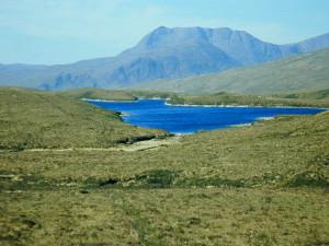 Loch ten noorden van Ullapool...