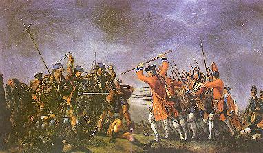 De slag bij Culloden...