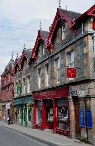 Dunkeld Street in Aberfeldy...