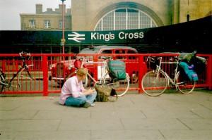 Even bijkomen van de angstaanjagende fietstocht door Londen...