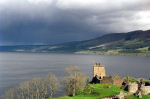 Urquhart aan Loch Ness...
