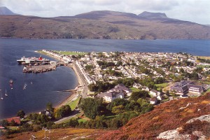 Ullapool aan Loch Broom...