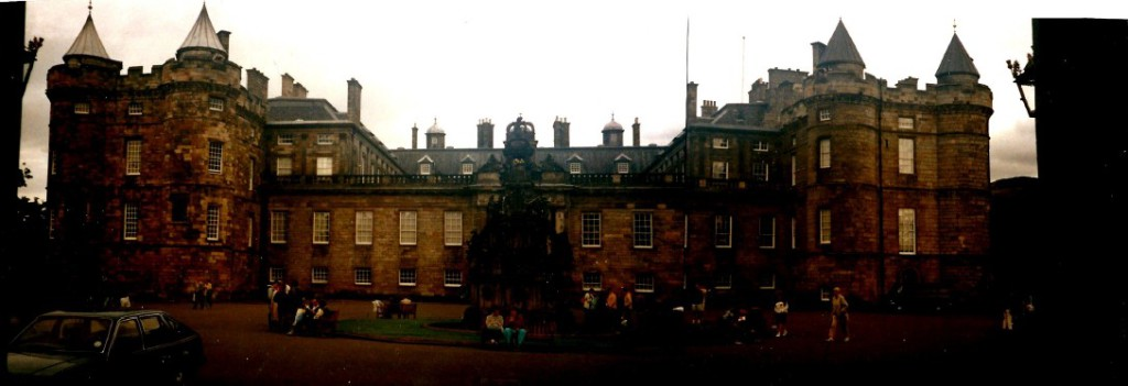 Holyrood House...