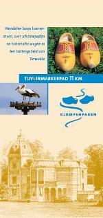 Folder Tuylermarkerpad met uitvoerige routebeschrijving...