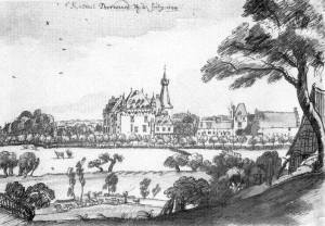 Kasteel Doorwerth in 1744...