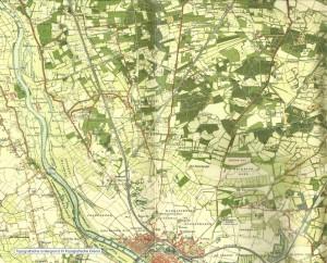 Same area around 1900...