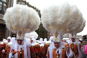 """Gilles tijdens """"Vette dinsdag"""" oftewel """"Mardi Gras""""..."""