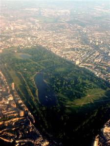 Hyde Park luchtfoto...