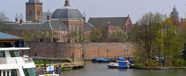 Monumentale stadsmuren aan de Zuidwal...