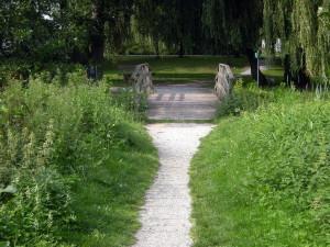 Brug over de Rijnbeek...