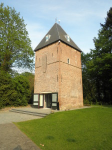 De toren van Havezate Oud Rande...