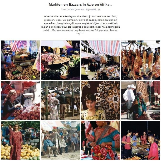 0005 Markest and Bazaars in Africa and AsiaNL